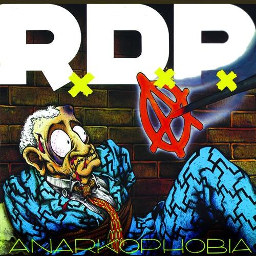 cd ratos de porão - anarkophobia (1992) novo original