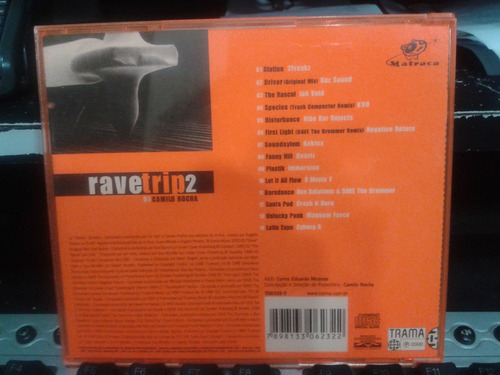 cd - rave trip - dj camilo rocha