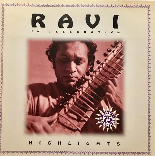 cd ravi shankar in celebration highlights importado eua