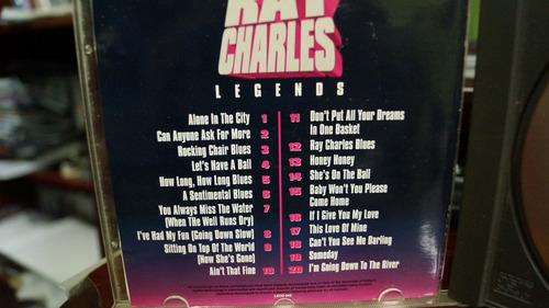 cd ray charles legends importado