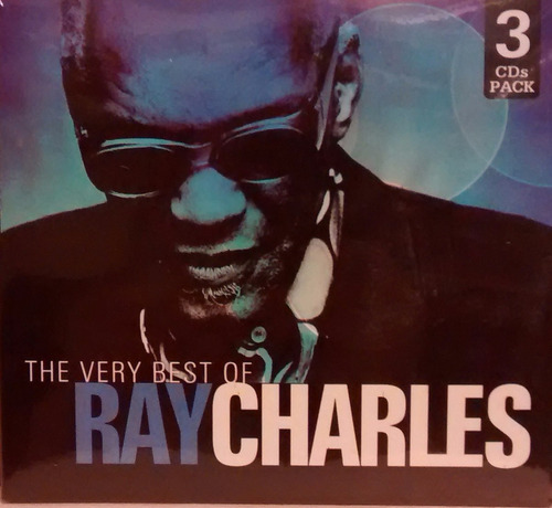 cd ray charles - the very best of -3cds (original y sellado)