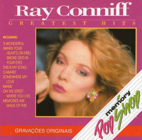 cd / ray conniff = greatest hits - brazilian version