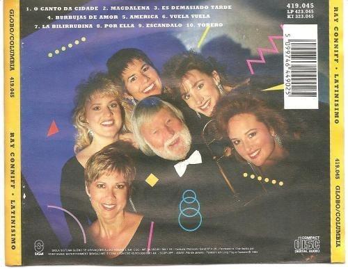 cd   ray conniff  -  latinisimo   - b313