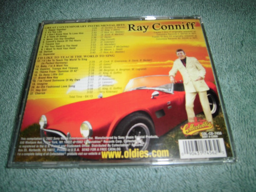 cd: ray conniff: laugther in the rain - after the lovin'