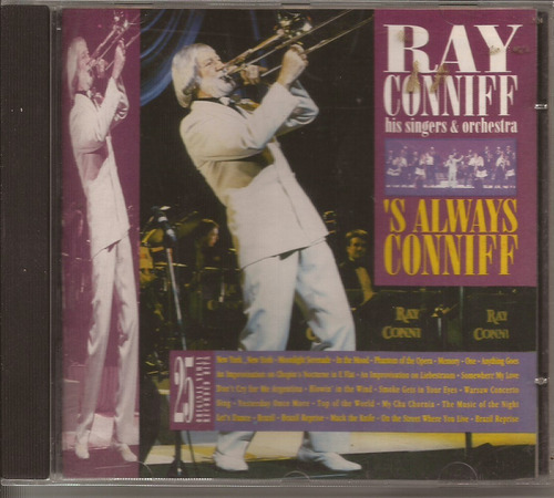 cd ray conniff - 's always conniff - columbia - 1187