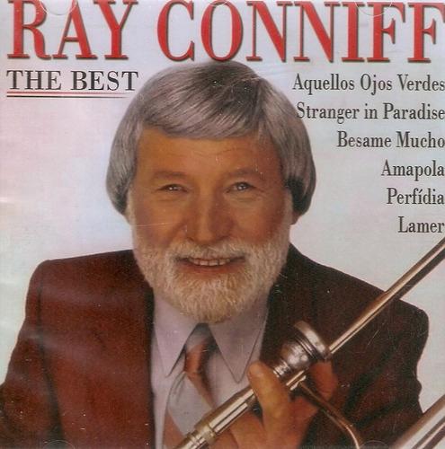 cd ray conniff - the best - novo lacrado***