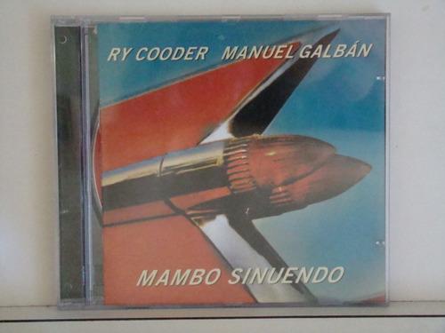 cd - ray cooder - manuel galban -- mambo sinuendo