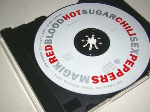 cd red hot chili peppers - bloo sugar... (importado) detalle