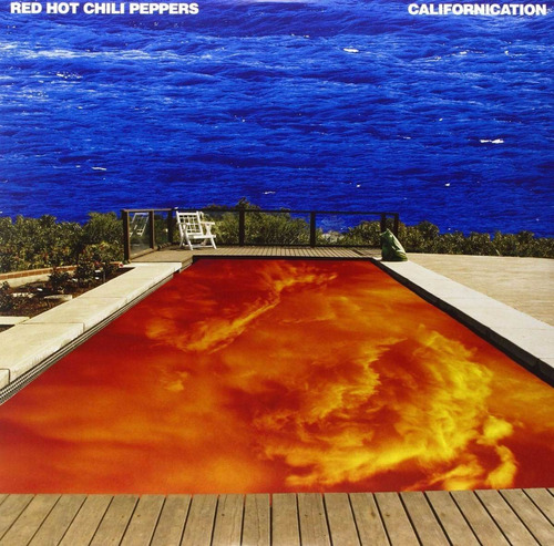 cd - red hot chili peppers - californication