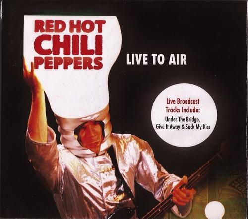 cd red hot chili peppers live to air novo original digipack