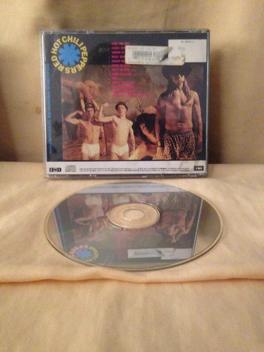 cd - red hot chili peppers - mother's milk - 1989 - usa