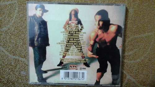 cd - red hot chili peppers - reading - importado