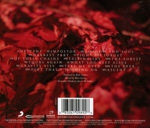 cd : red - of beauty & rage (cd)