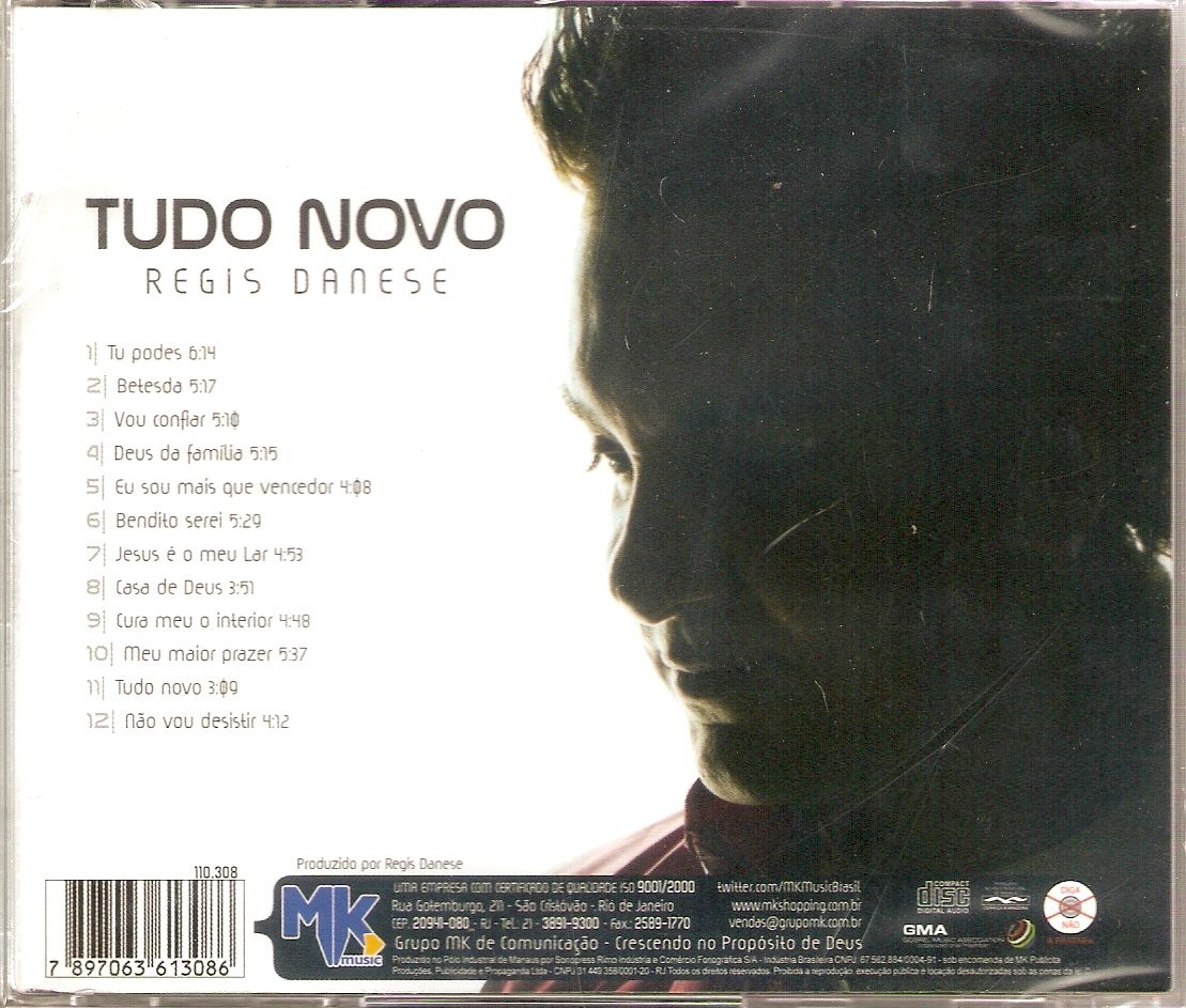 gratis novo cd regis danese 2012