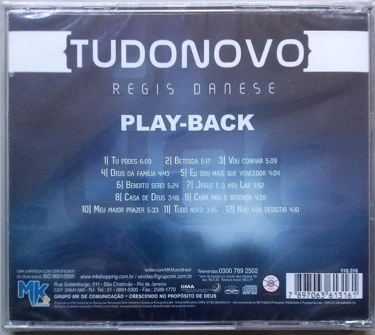 playback do cd tudo novo de regis danese