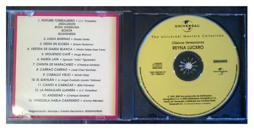 cd - reina lucero - the universal - 2000 - original