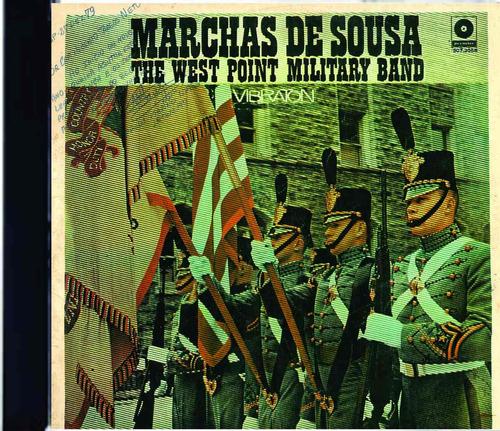 cd remasterizado marchas de souza banda academia militar eua