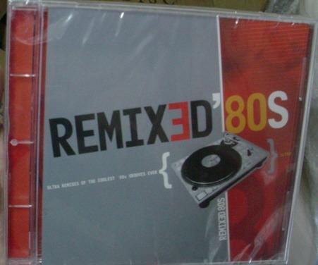 cd  -  remixed  anos 80  -  novo e lacrado -  b249