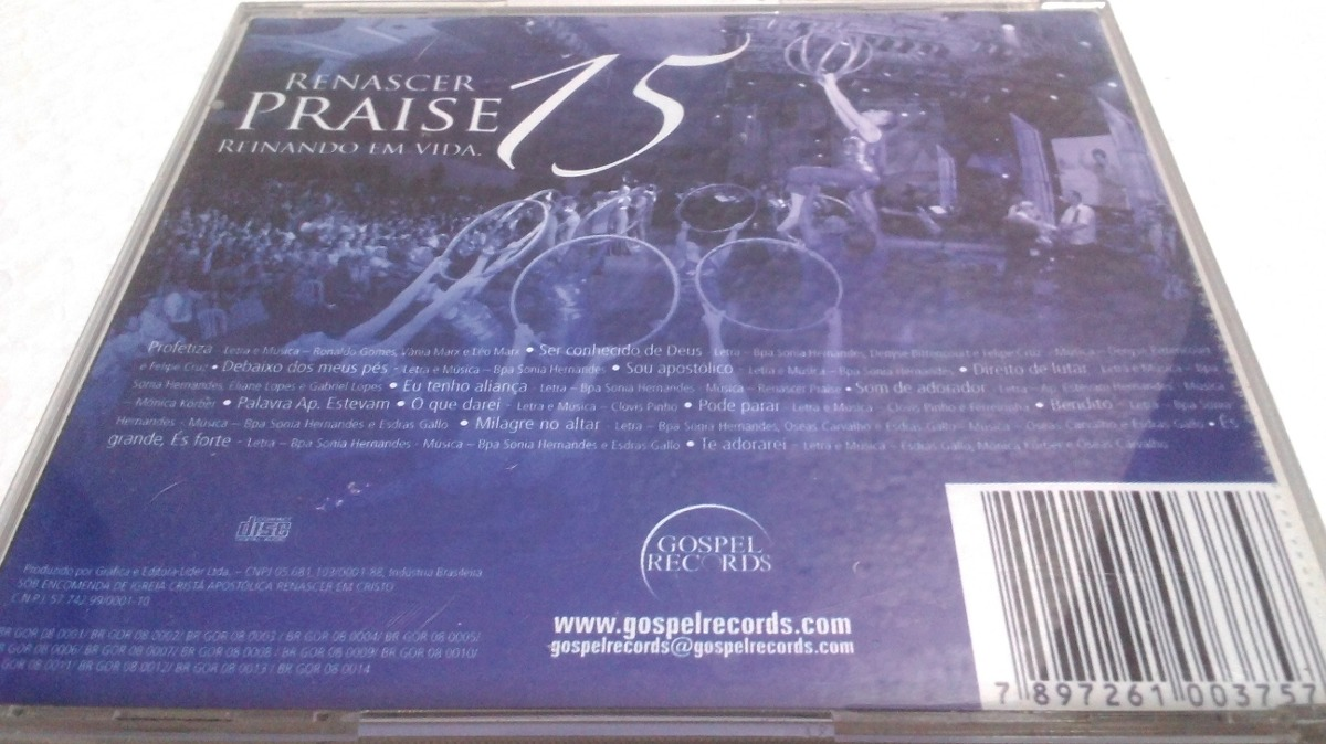 cd do renascer praise vol.15