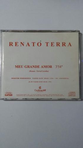 cd renato terra - meu grande amor (tema novela a viagem)