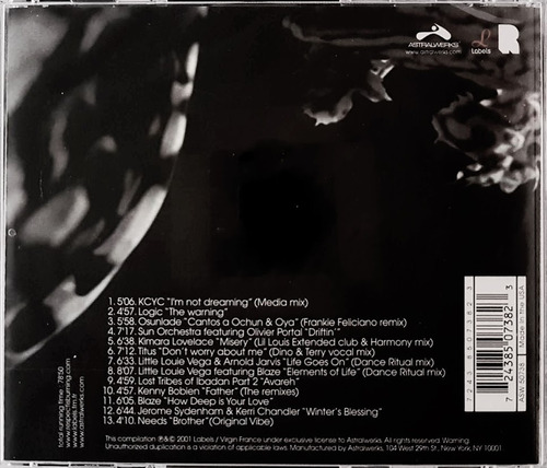 cd respect to dj deep - importado usa - novo lacrado
