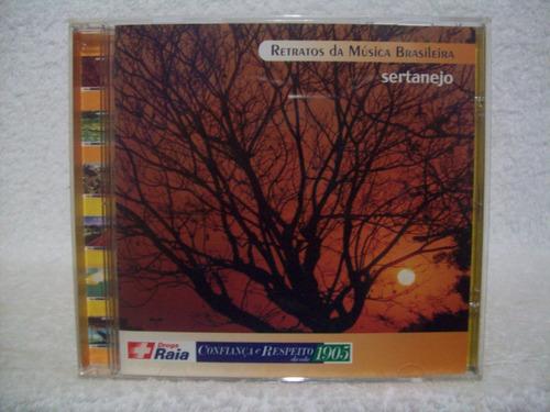 cd retratos da música brasileira- sertanejo