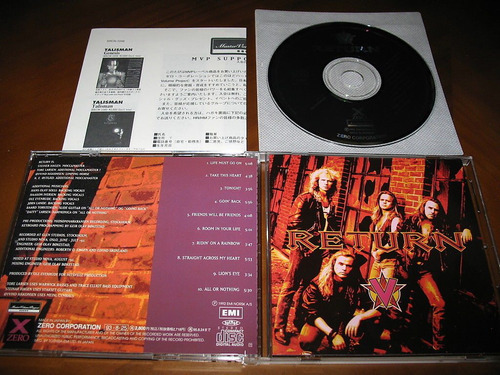 cd return/europe,treat,alien,da vinci,tnt,skagarack!!!