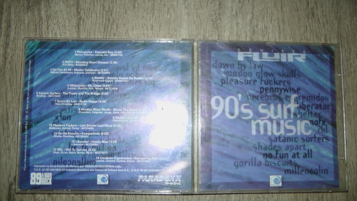 cd fluir 90s surf music