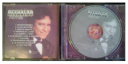 cd - reynaldo armas - coleccion platino  - vol. 1 - original