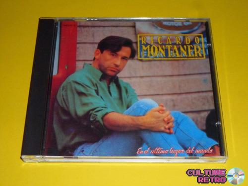 cd. ricardo montaner. en el ultimo lugar del mundo. 1991