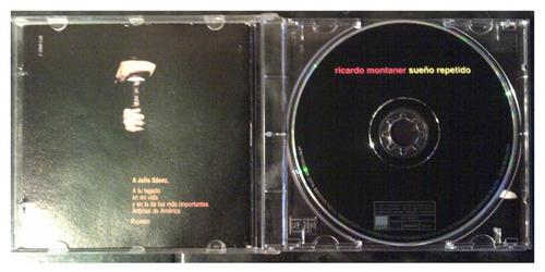 cd - ricardo montaner - sueño repetido - 2001 - original