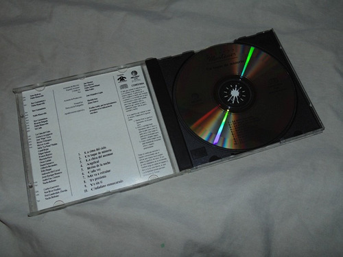 cd - ricardo montaner - un toque de misterio - 1990 melody