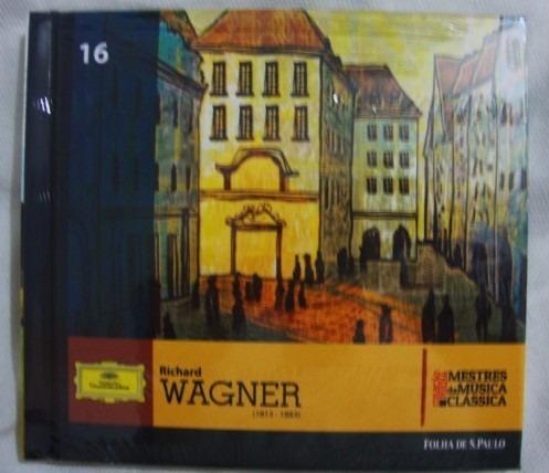 cd richard wagner mestres da música clássica folha 16 novo