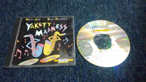 cd richie cole boots randolph yakety madness en formato cd