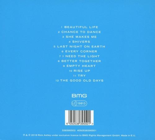 cd : rick astley - beautiful life (cd)
