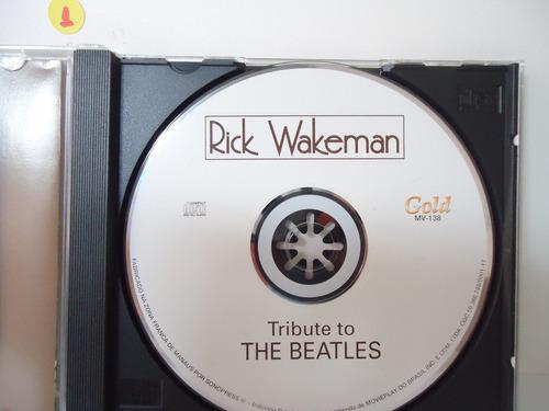 cd rick wakeman - tribute to the beatles- by trekus vintage