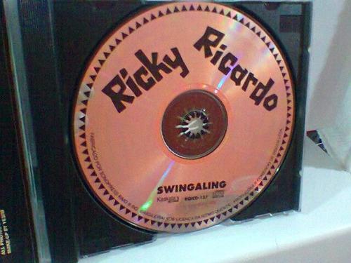 cd ricky ricardo  / swingaling      (frete grátis)