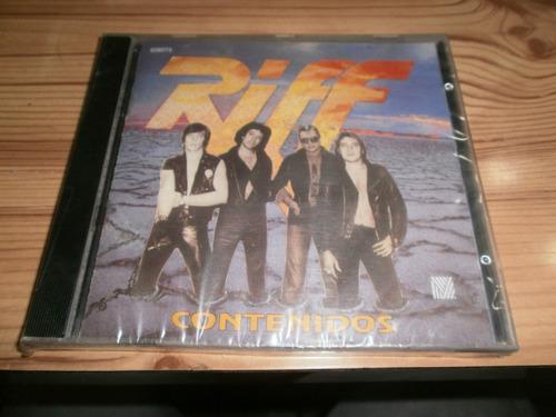 cd riff pappo contenidos  nuevo cerrado