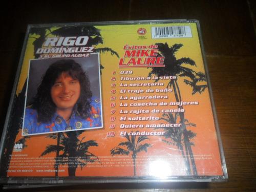 cd rigo dominguez y su grupo audaz exitos de mike laure