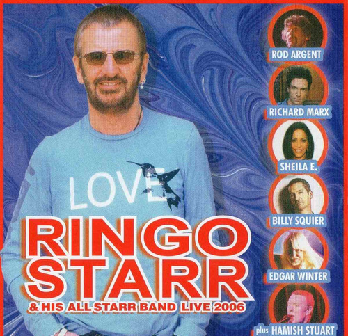 Cd Ringo Starr & His All Star Band - R$ 68,00 em Mercado Livre