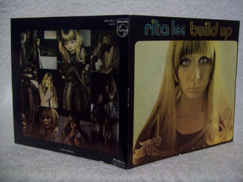 cd rita lee - build up (1970) 1º disco da carreira (mutantes