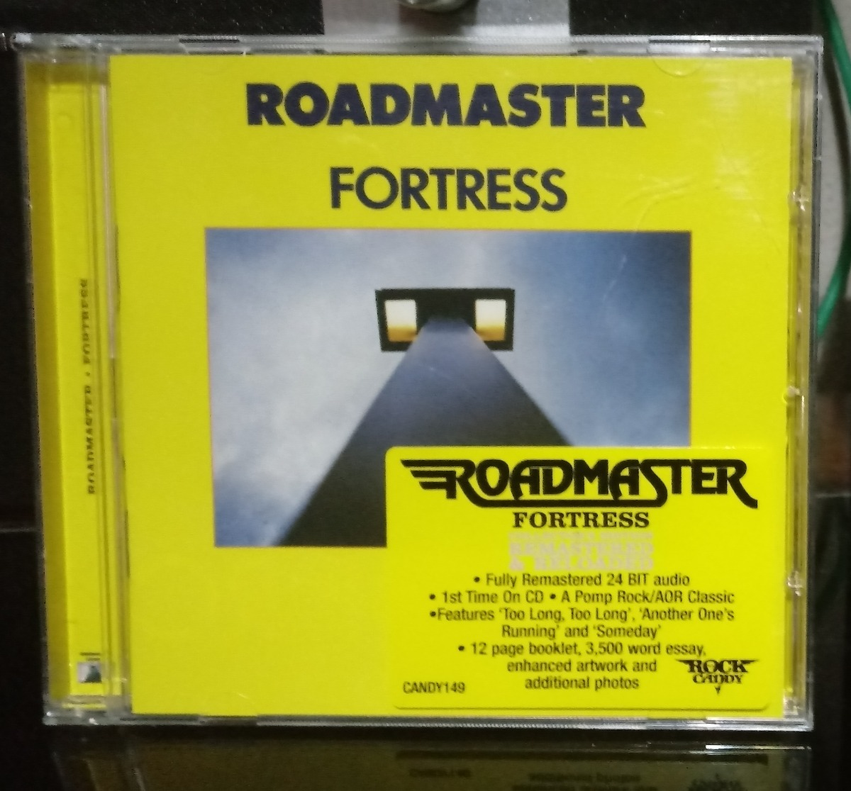 Cd Roadmaster Fortress Aor Hard Rock Remaster Rock Candy Uk