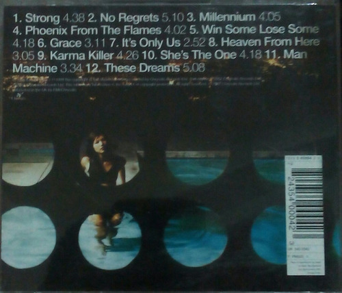 cd robbie williams live been expecting you