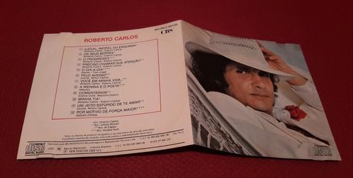 cd roberto carlos  1976 1a edição cbs / microservice