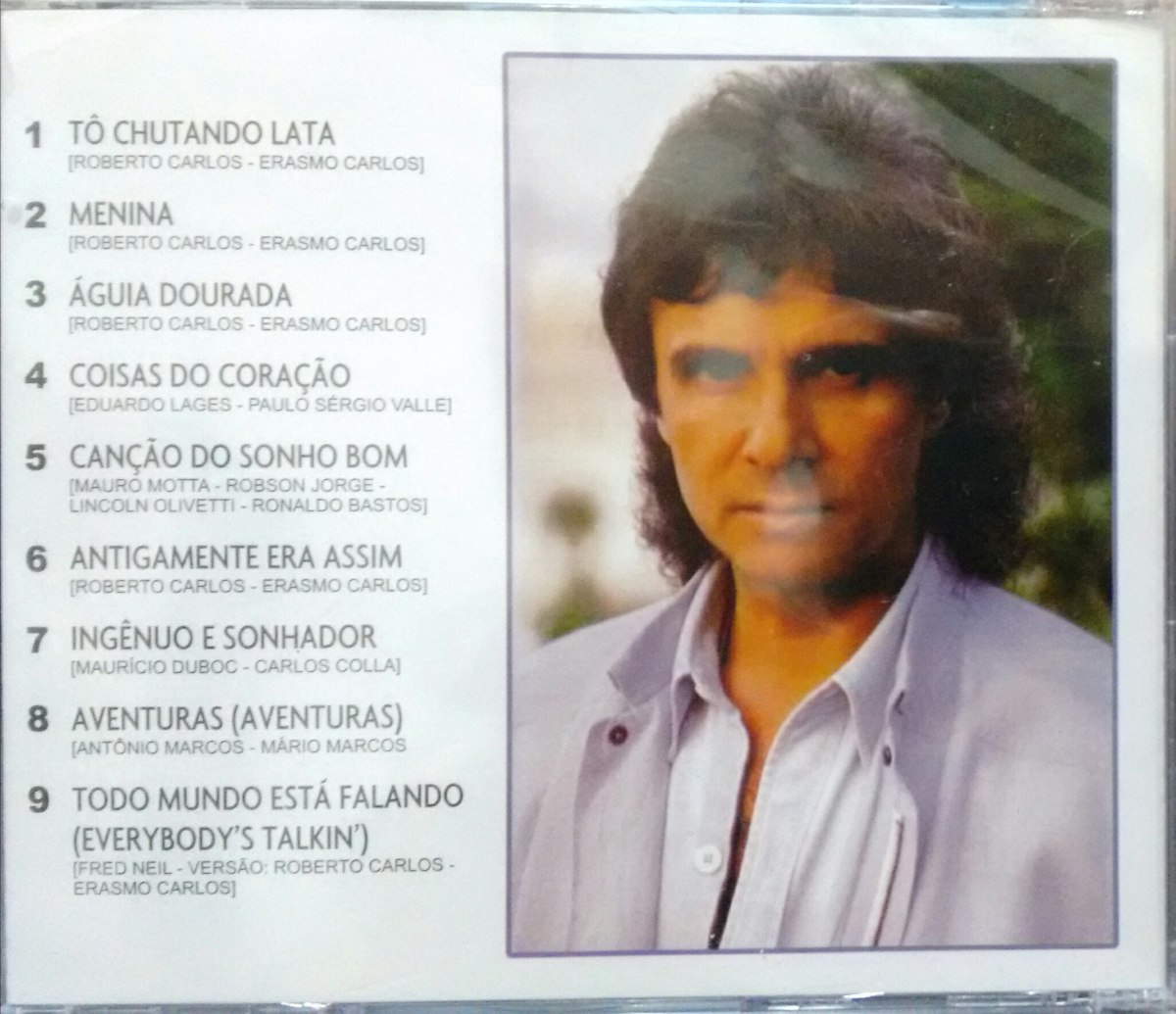 Cd Roberto Carlos - 1987 Remasterizado - R$ 90,00 em
