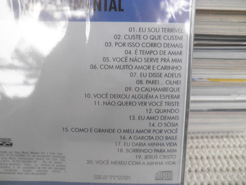 cd roberto carlos instrumental 20 super andré mazzini novo