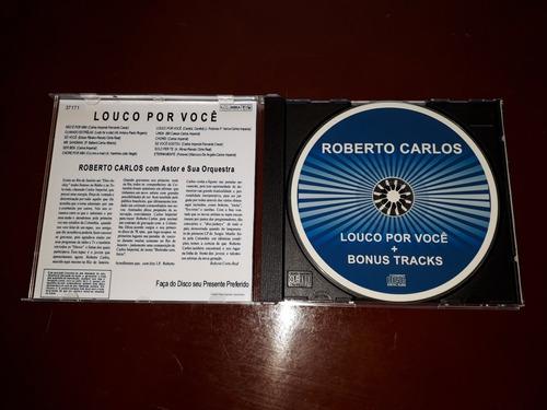 cd roberto carlos louco por você + 15 faixas