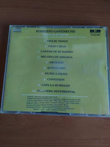 cd roberto goyeneche cantor de mi barrio