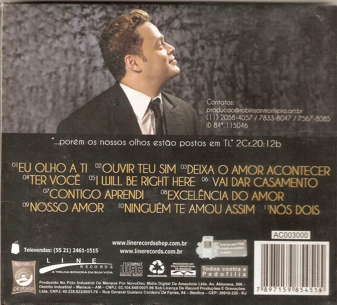 cd de robinson monteiro romantico