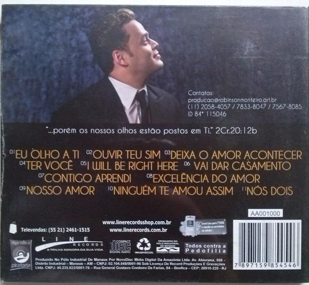 MONTEIRO ROBINSON ROMANTICO CD BAIXAR